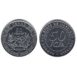 (21) Estados África Central. 2006. 50 Francs (SC)