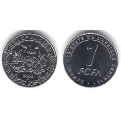 (16) Estados África Central. 2006. 1 Franc (SC)