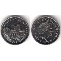 (1039) Isla de Man. 2003. 10 Pence (SC)