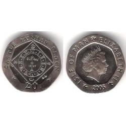 (1257) Isla de Man. 2005. 20 Pence (SC)