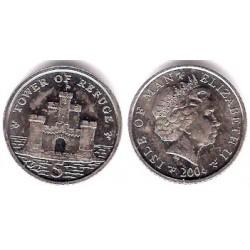 (1255) Isla de Man. 2004. 5 Pence (SC)