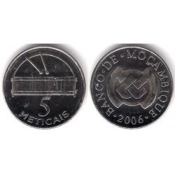 (136) Mozambique. 2006. 5 Meticais (SC)