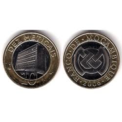 (140) Mozambique. 2006. 10 Meticais (SC)