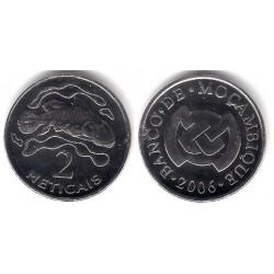 (138) Mozambique. 2006. 2 Meticais (SC)