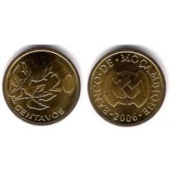 (135) Mozambique. 2006. 20 Centavos (SC)