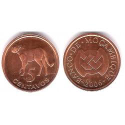 (133) Mozambique. 2006. 5 Centavos (SC)