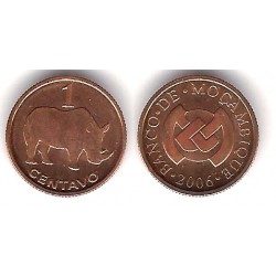 (132) Mozambique. 2006. 1 Centavo (SC)