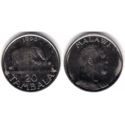 (29) Malaui. 1996. 20 Tambala (SC)