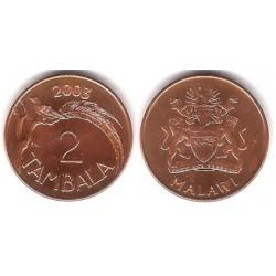 (34a) Malaui. 2003. 2 Tambala (SC)