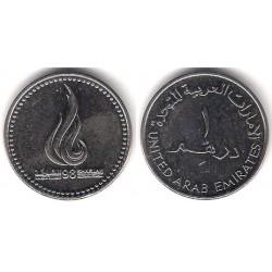 (39) Emiratos Árabes Unidos. 1998. 1 Dirham (SC)