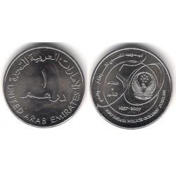 (96) Emiratos Árabes Unidos. 2007. 1 Dirham (SC)