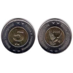 (120) Bosnia-Hercegovina. 2005. 5 Konvertible Marka (SC)