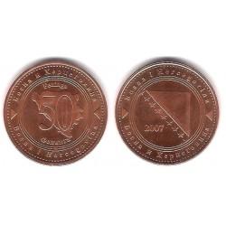 (117) Bosnia-Hercegovina. 2007. 50 Pfennig (SC)
