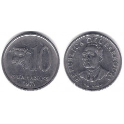 (167) Paraguay. 1975. 10 Guaranies (MBC)