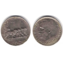 (61.1) Italia. 1920(R). 50 Centesimi (BC)