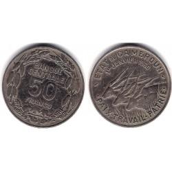 (13) Camerún. 1960. 5 Francs (MBC-)