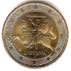 Lituania. 2015. 50 Céntimos (SC)