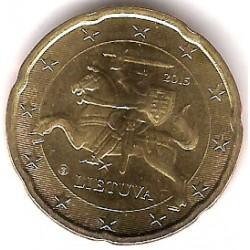 Lituania. 2015. 20 Céntimos (SC)