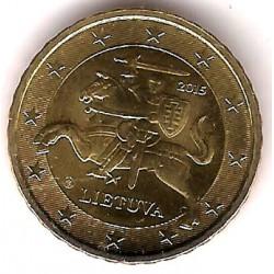 Lituania. 2015. 10 Céntimos (SC)