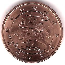 Lituania. 2015. 5 Céntimos (SC)