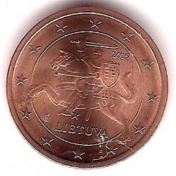 Lituania. 2015. 2 Céntimos (SC)