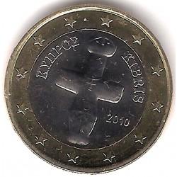 Chipre. 2010. 1 Euro (SC)
