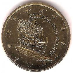 Chipre. 2010. 50 Céntimos (SC)