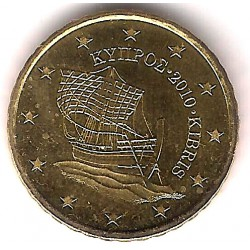 Chipre. 2010. 10 Céntimos (SC)