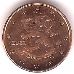 Finlandia. 2012. 1 Céntimo (SC)