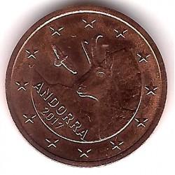 Andorra. 2017. 2 Céntimos (SC)