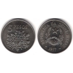 Guinea-Bissau. 1977. 5 Pesos (SC)