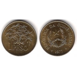 (18) Guinea-Bissau. 1977. 1 Peso (SC)