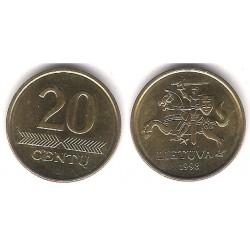 (107) Lituania. 1998. 20 Centu (SC)