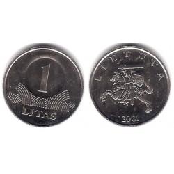 (111) Lituania. 2001. 1 Litas (SC)
