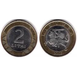 (112) Lituania. 2002. 2 Litai (SC)