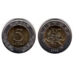 (113) Lituania. 1998. 5 Litai (SC)