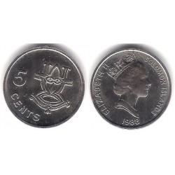 (26) Islas Salomón. 1998. 5 Cents (SC)
