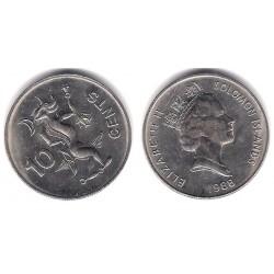 (27) Islas Salomón. 1988. 10 Cents (EBC)