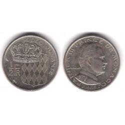 (145) Mónaco. 1968. ½ Franc (MBC)