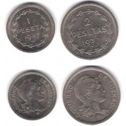 Gobierno de Euskadi. 1937. Serie Completa (EBC)