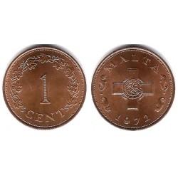 (8) Malta. 1972. 1 Cent (SC)