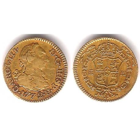 Carlos III. 1772. ½ Escudo (MBC) (Oro)