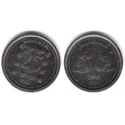 (40) Líbano. 2002. 25 Livres (SC)