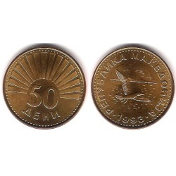 (1) Macedonia. 1993. 50 Deni (SC)