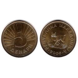 (4) Macedonia. 2006. 5 Denari (SC)