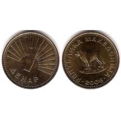(2) Macedonia. 2006. 1 Denar (SC)