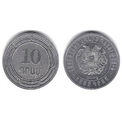 (112) Armenia. 2004. 10 Drams (SC)