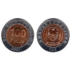 (32) Ruanda. 2007. 100 Francs (SC)