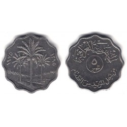 (125a) Iraq. 1975. 5 Fils (SC)