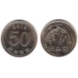 (34) Corea del Sur. 2016. 50 Won (MBC)